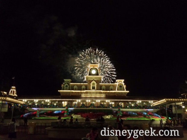 Wishes behind the Main Street train station