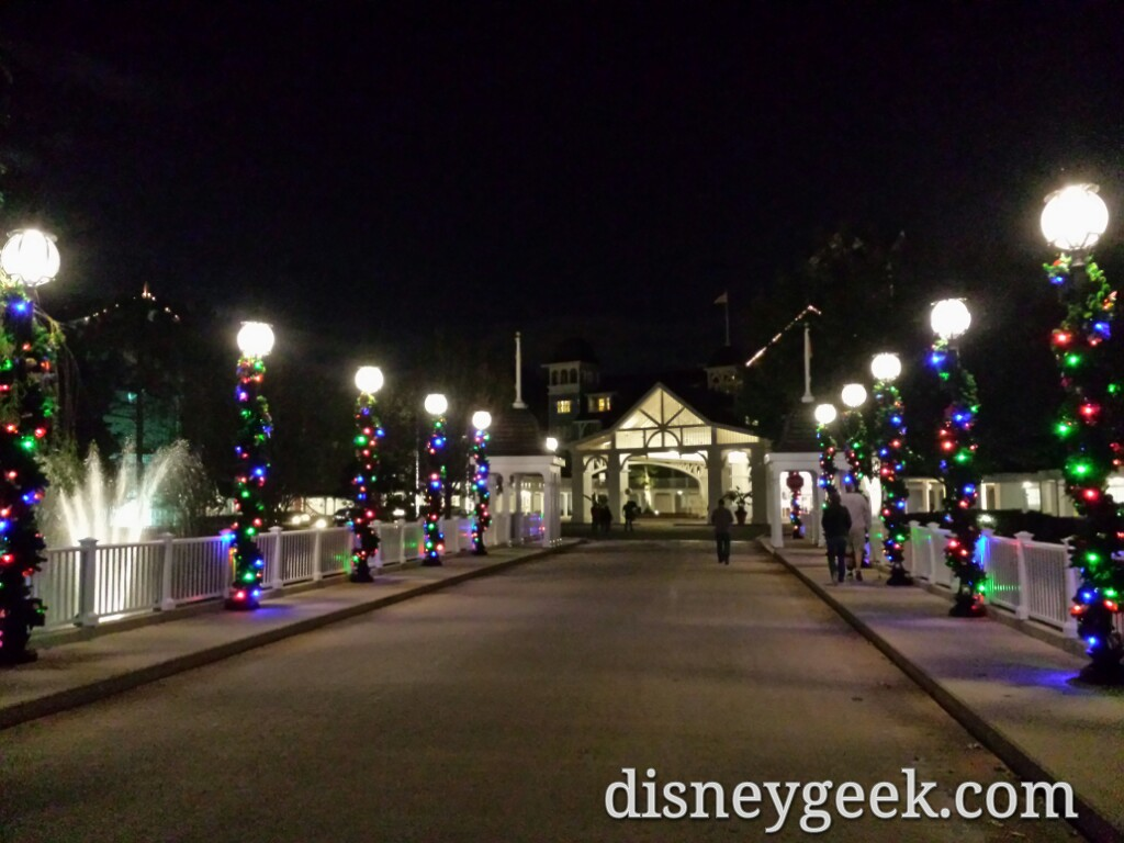 Disney's Beach Club Resort driveway #DisneyHolidays