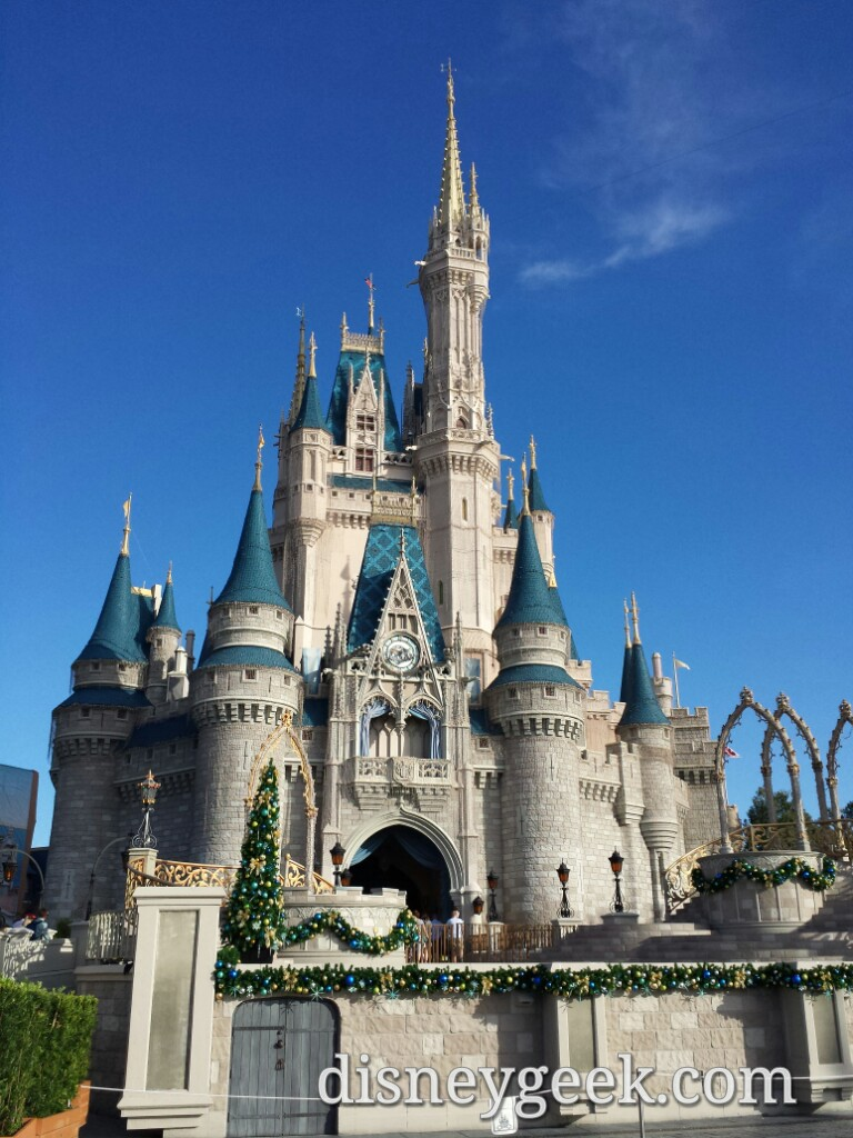Cinderella Castle at the Magic Kingdom #WDW