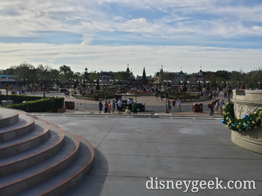 Looking toward the hub & Main Street from Cinderella Castle #WDW