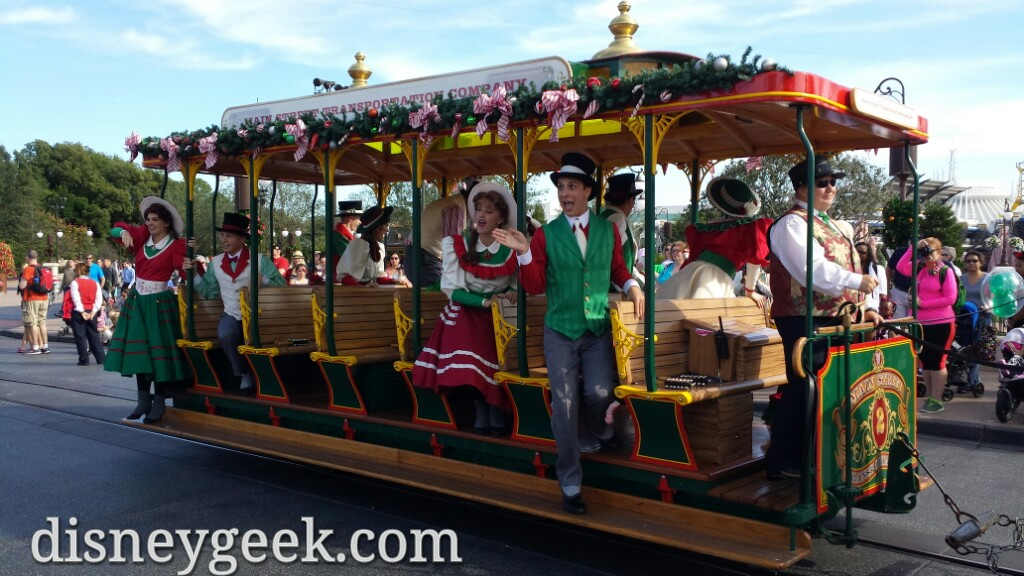 Main Street Trolley Show at the Magic Kingdom #WDW