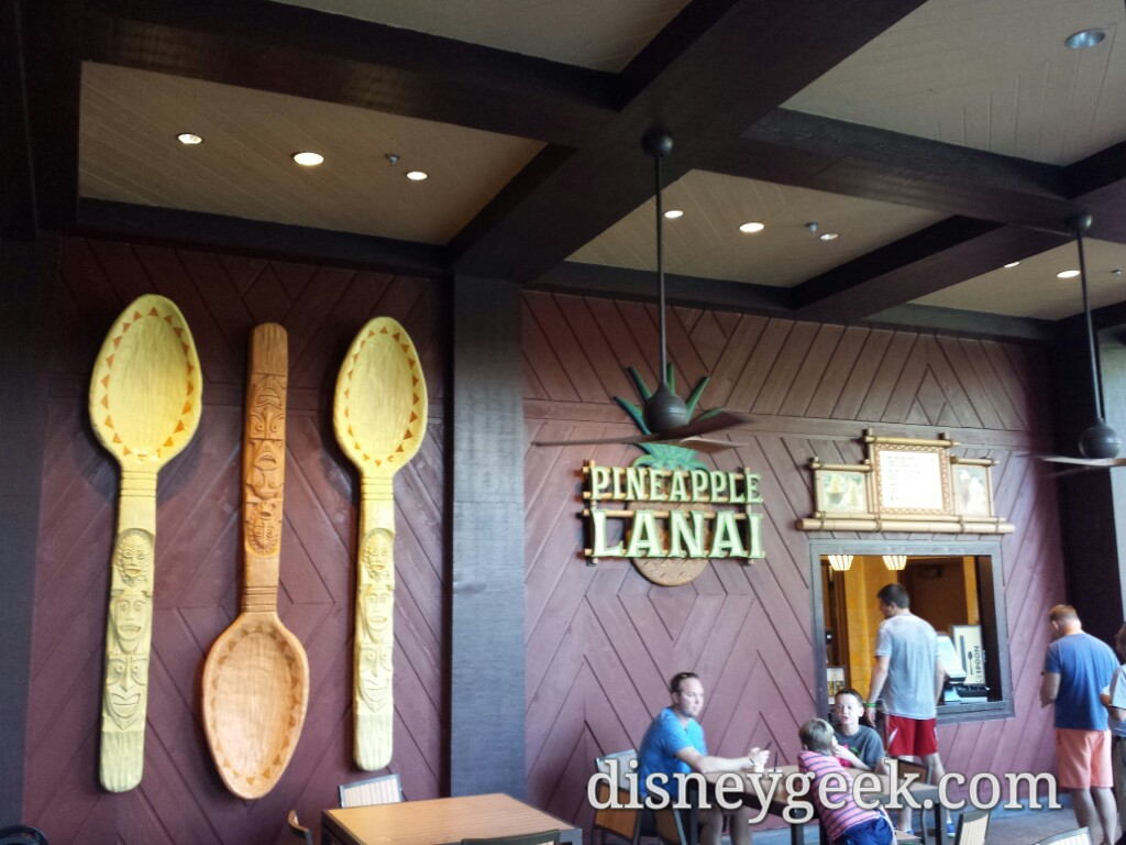 Pineapple Lanai at Disney's Polynesian Village Resort