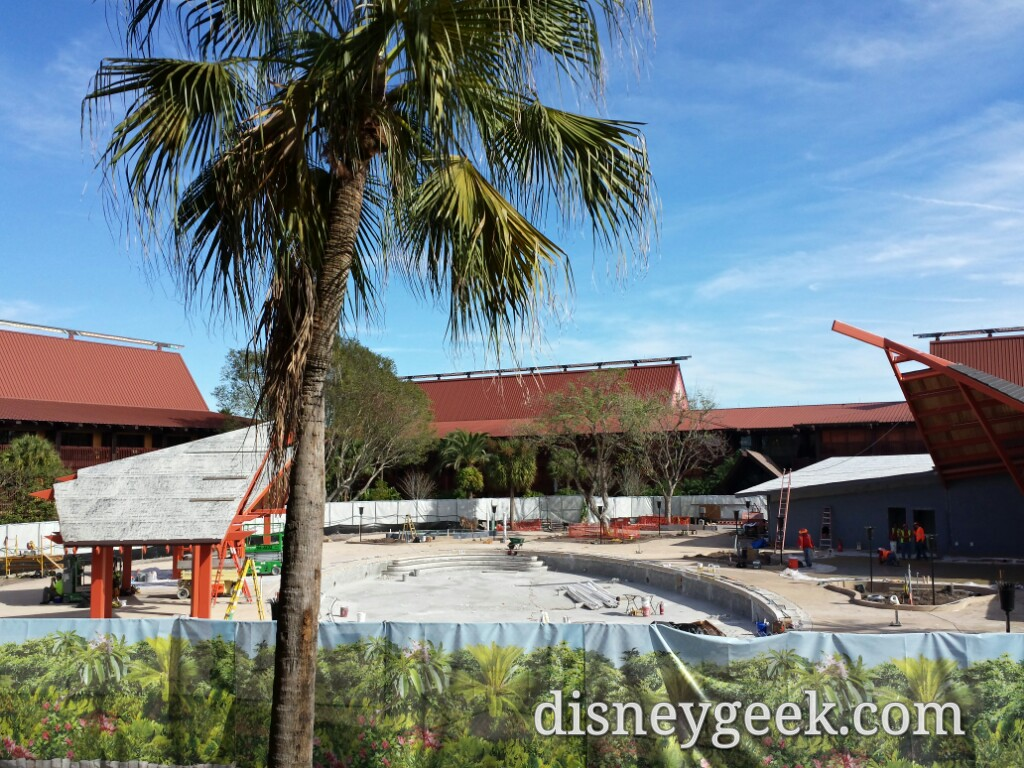 The Polynesian Village Resort Oasis pool