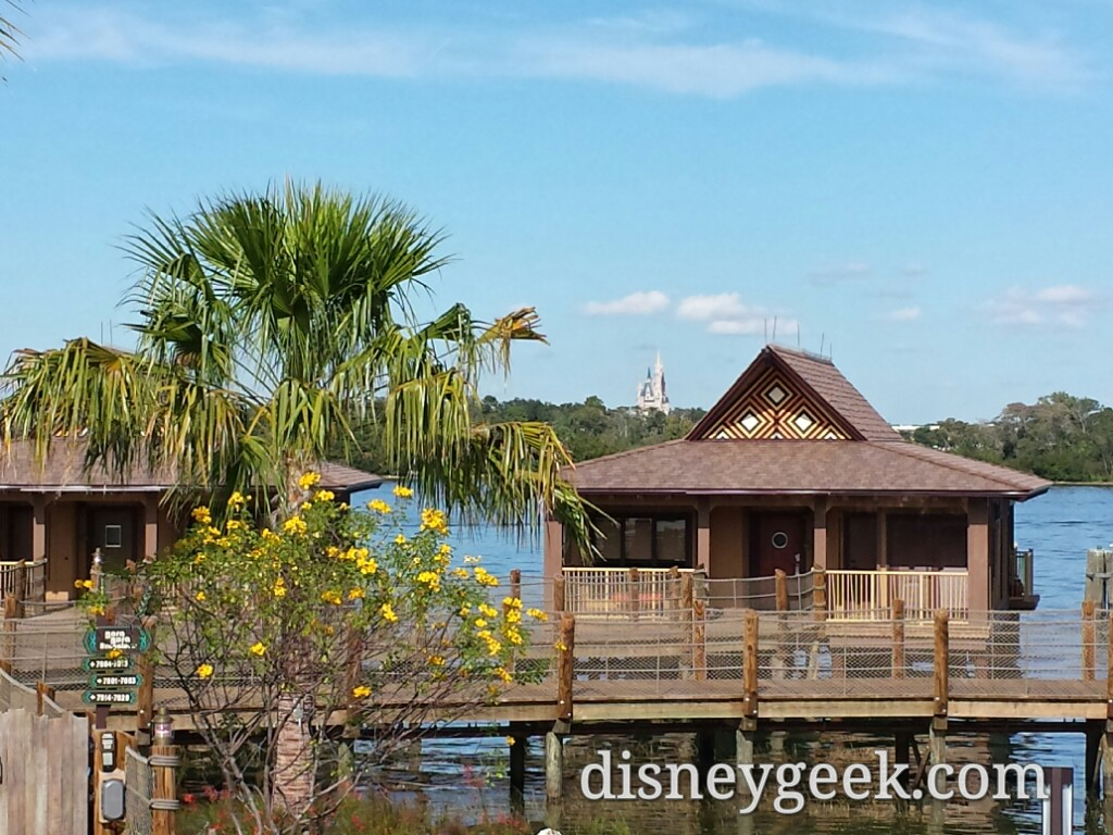 Polynesian Village Resort Bungalow  #WDW