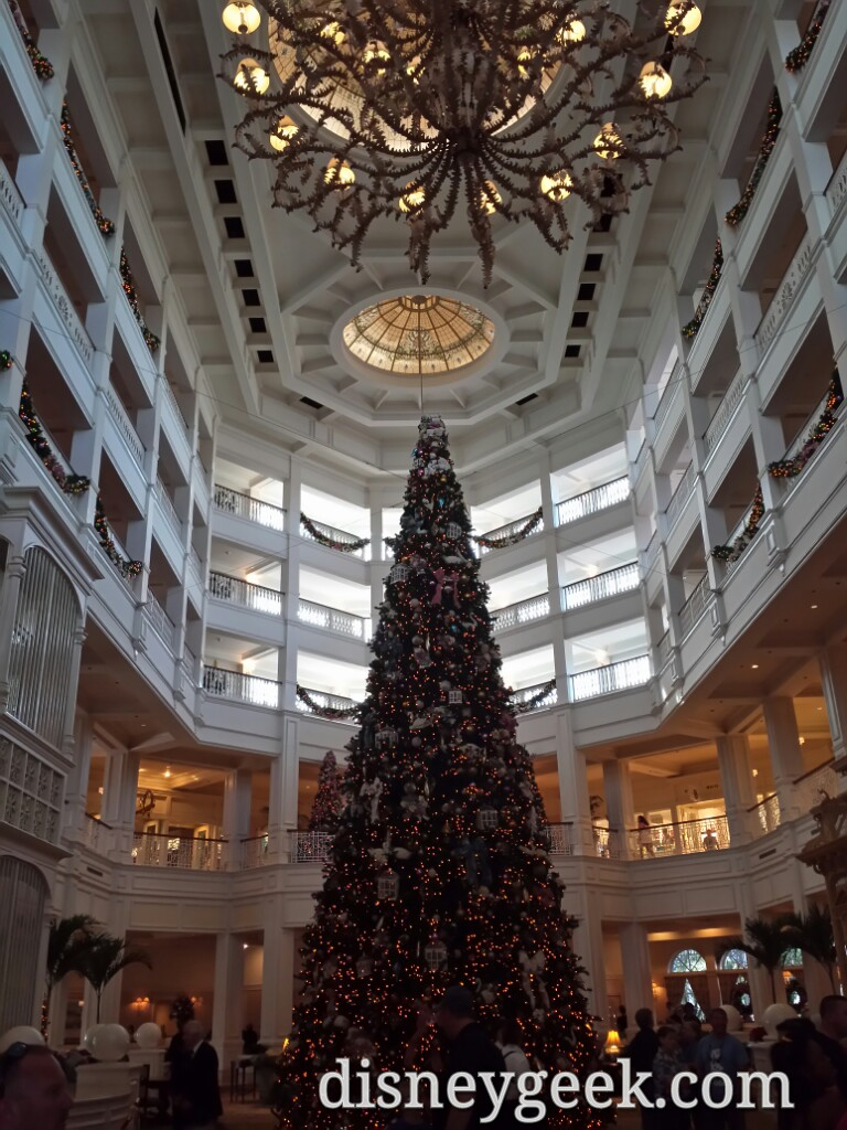 The Grand Floridian #Christmas tree