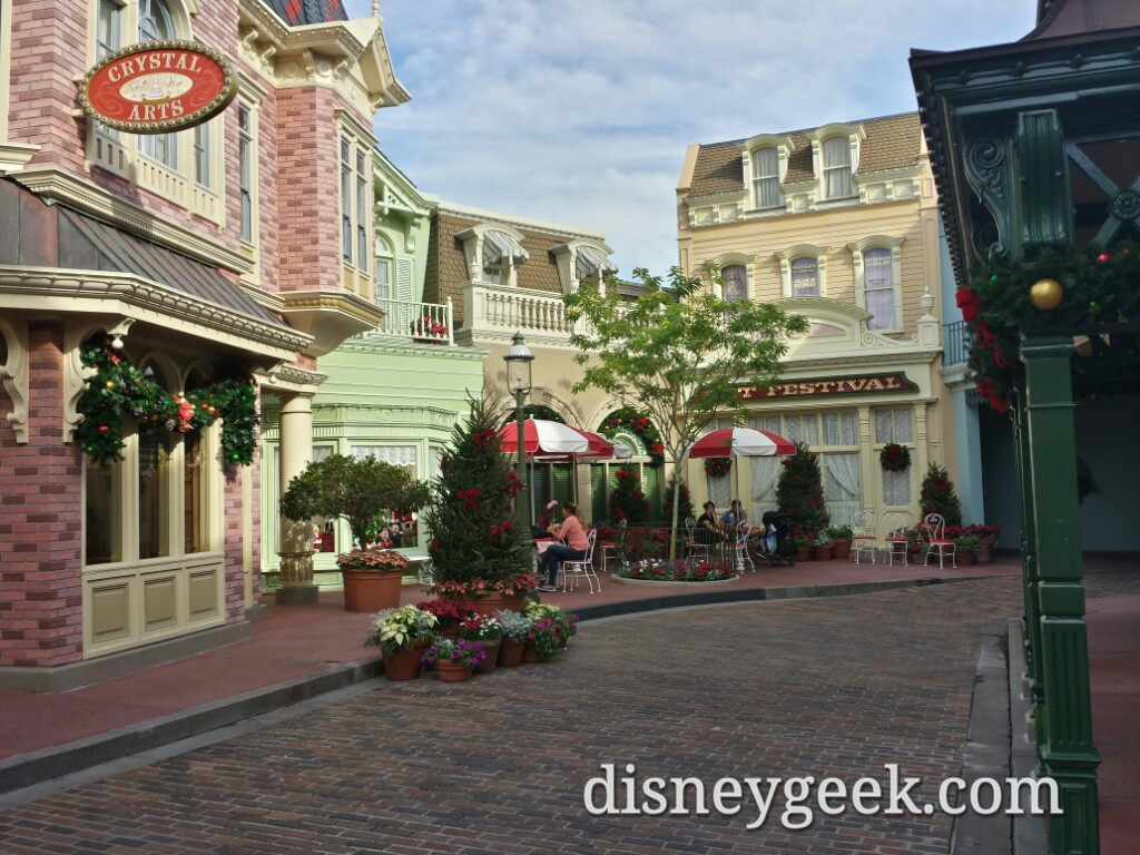 Center Street off Main Street USA #WDW