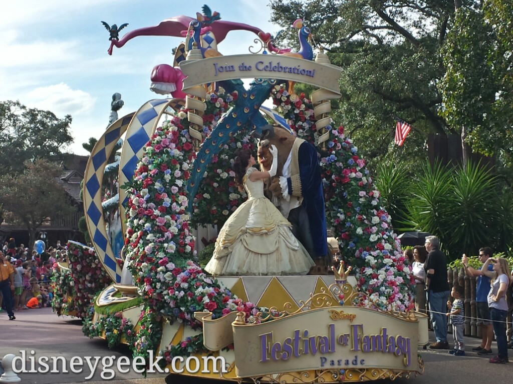 Festival of Fantasy Parade at the Magic Kingdom #WDW