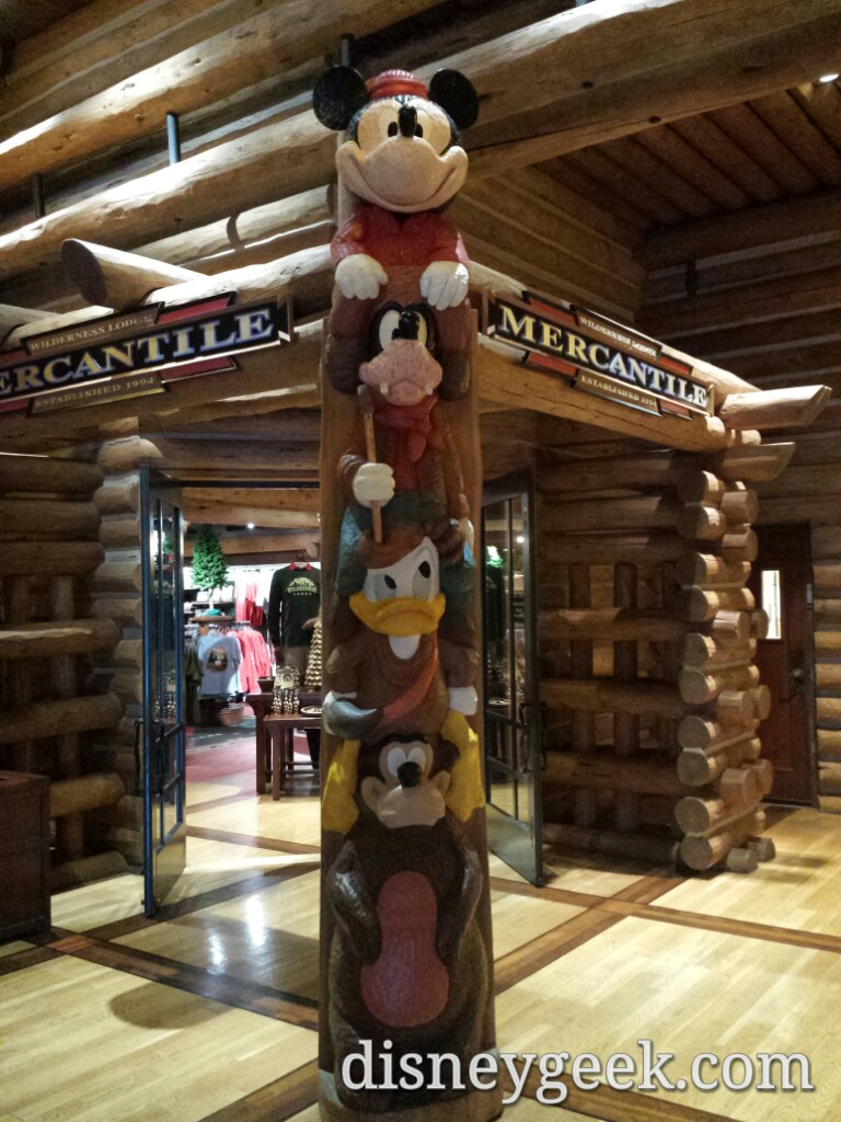 Wilderness Lodge Mercantile #WDW