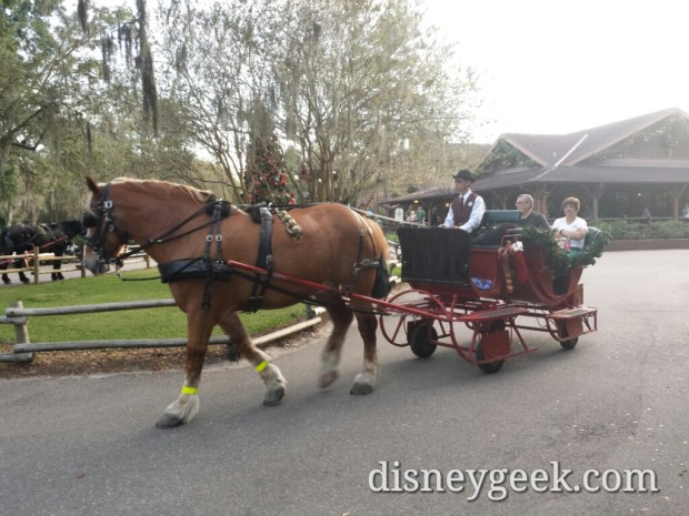 Sleigh Rides at Fort Wilderness