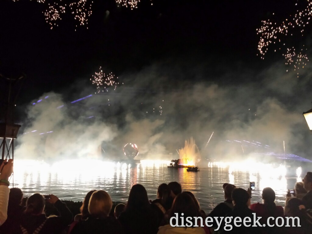 Closed out my day with Illuminations Reflections of Earth at #Epcot