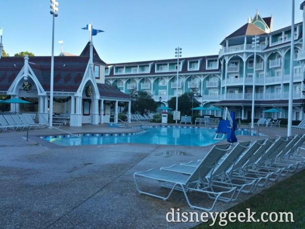 Beach Club Villas quiet pool