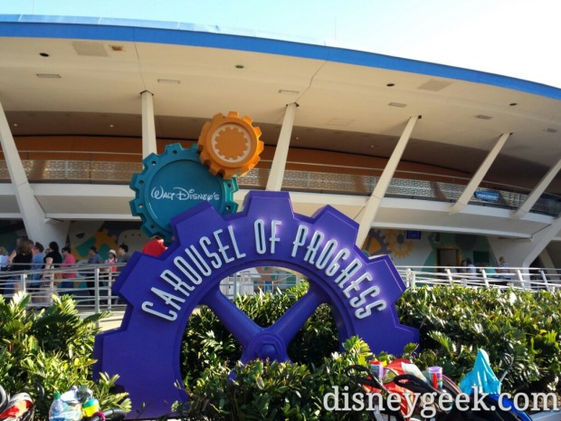 Carousel of Progress was next on my list.