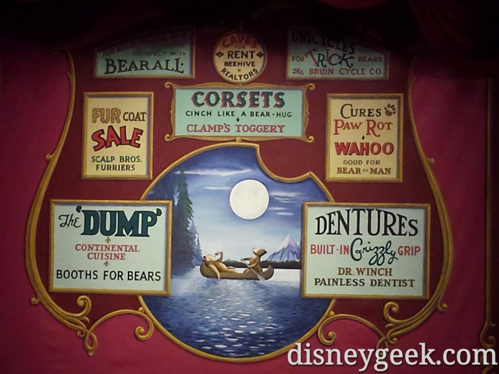 Time for the Country Bear Jamboree at the Magic Kingdom #WDW