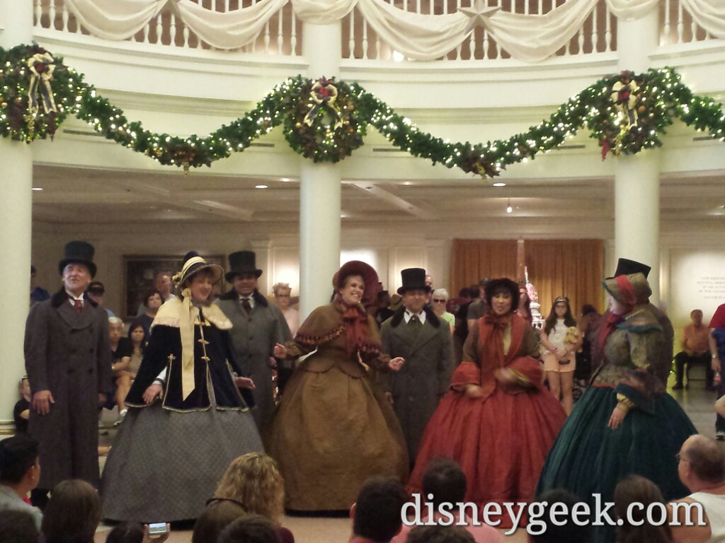 The Voices of Liberty at the American Adventure #Epcot