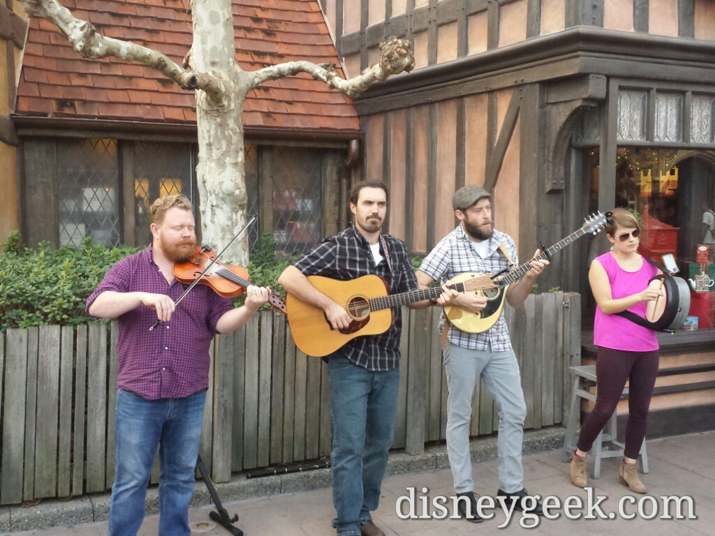 Quickstep performing in the United Kingdom @ #Epcot