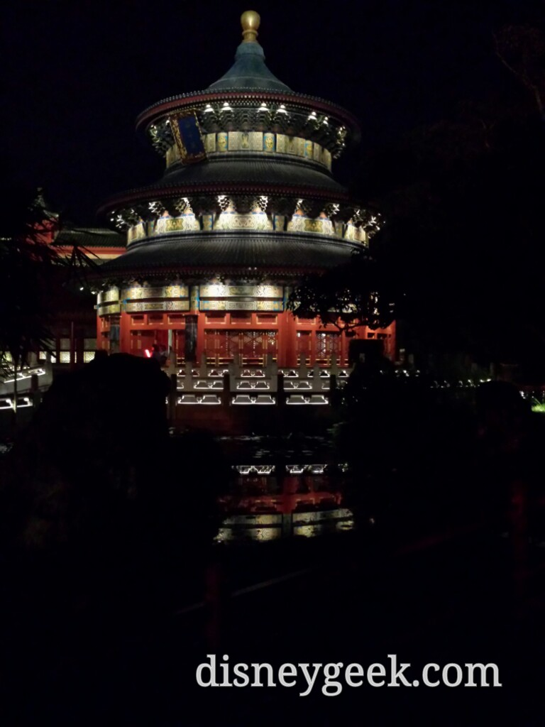 Passing by China in Epcot