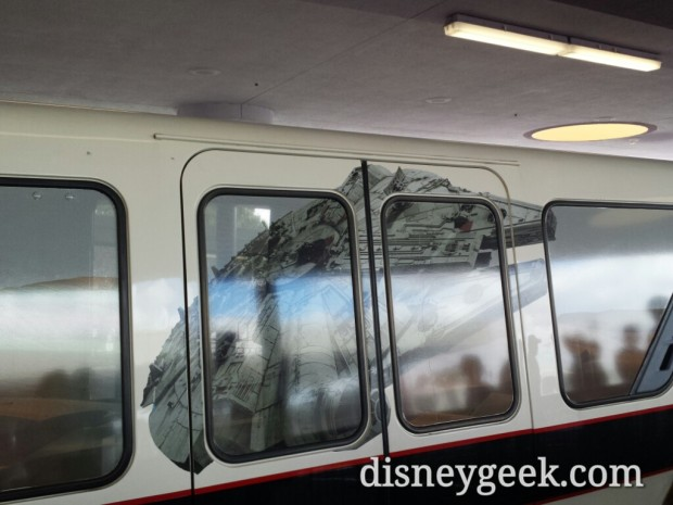 A closer look at the Star Wars Monorail