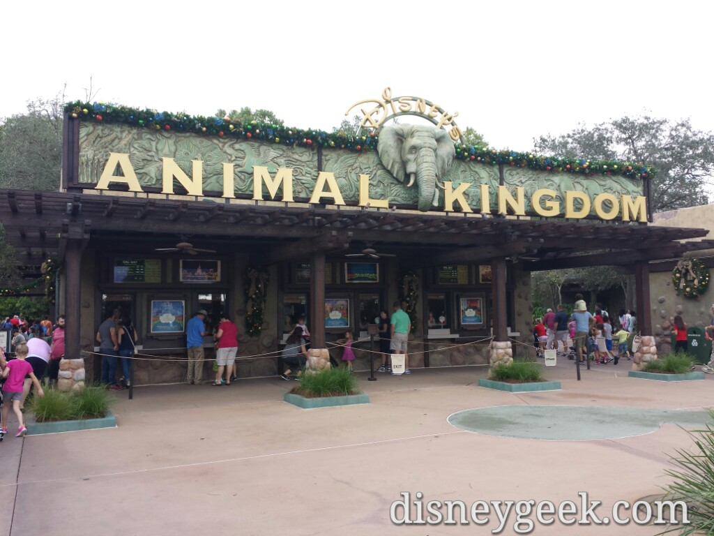 Starting my morning off at Disney's Animal Kingdom #WDW