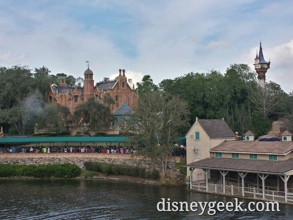 The Haunted Mansion from the Liberty Belle