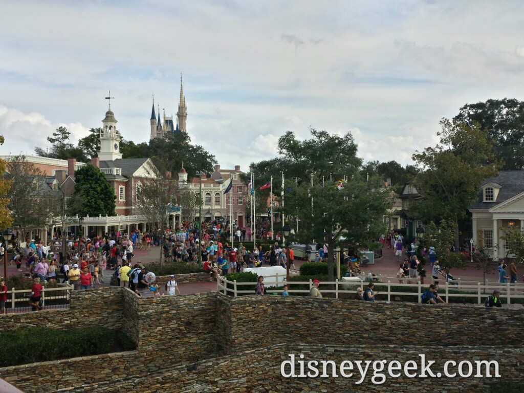 Cruising by Liberty Square at the Magic Kingdom
