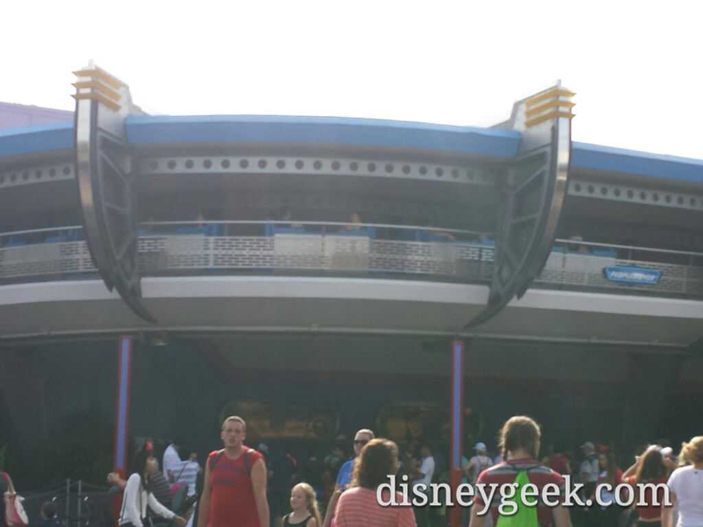 Plan was a last trip on the PeopleMover but it was stopped #WDW