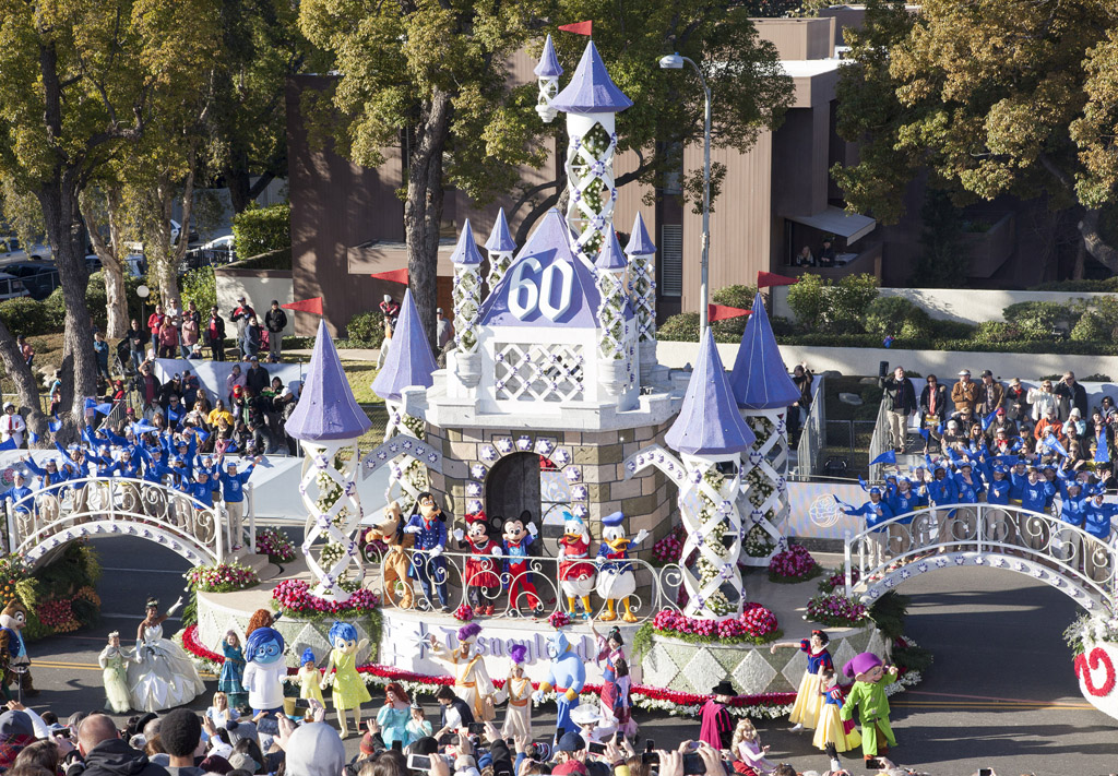 Disneyland Rose Parade Float (Disney Pictures & Video)
