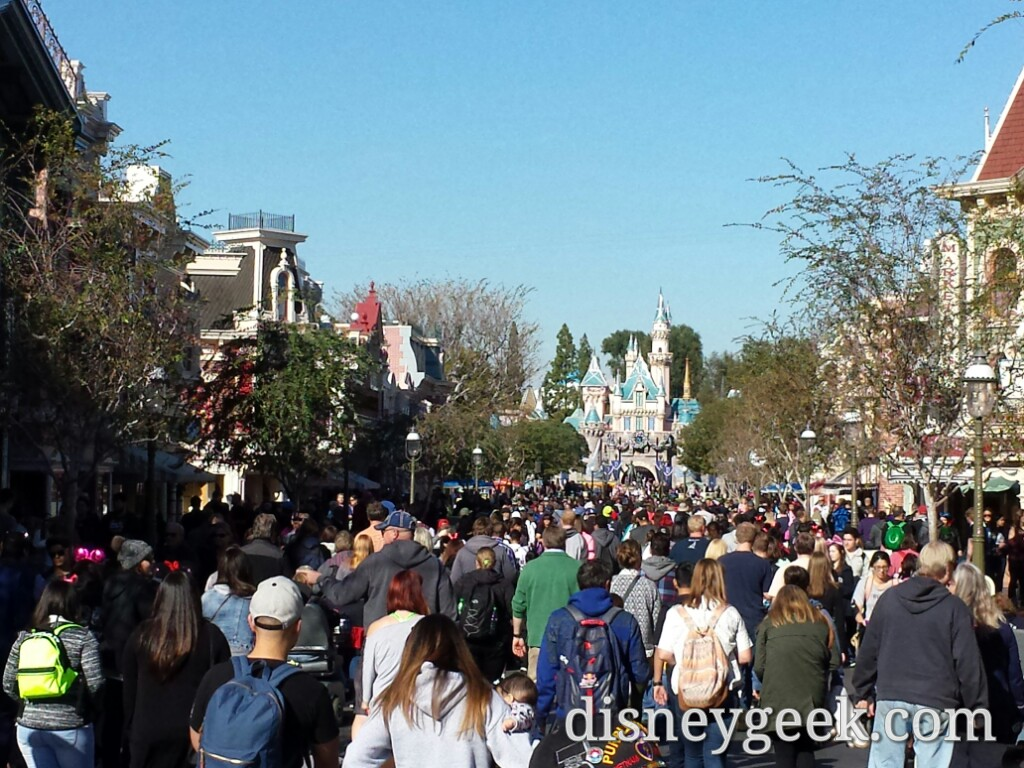 #Disneyland Main Street USA at 1:30pm