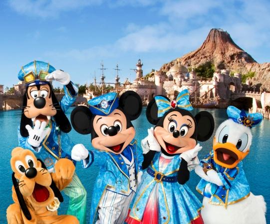 Details on the Tokyo DisneySea 15th Anniversary Celebration (Several Releases)