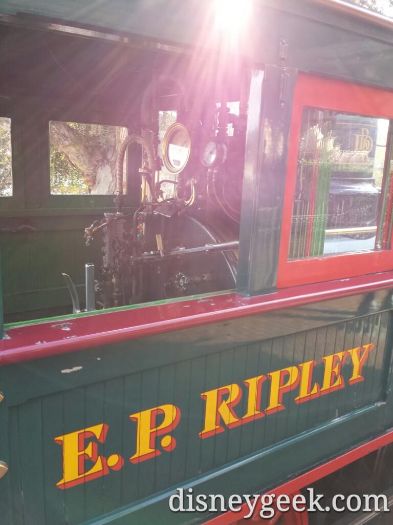 E.P. Ripley cab #Disneyland Railroad