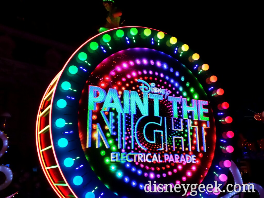 Paint the Night time #Disneyland