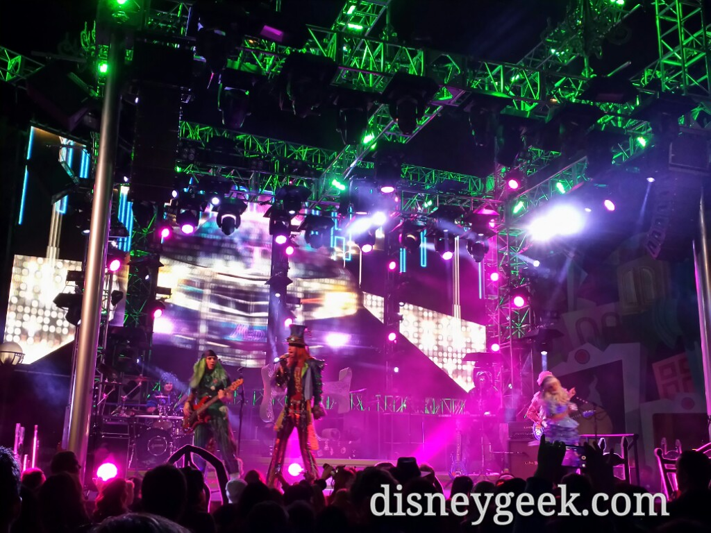 #MadTParty kicking off for the evening at Disney California Adventure