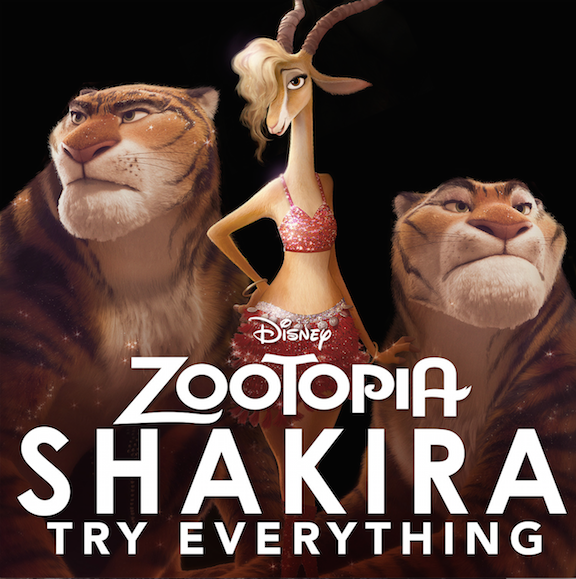"Zootopia – Shakira's ""Try Everything"" Music Video"