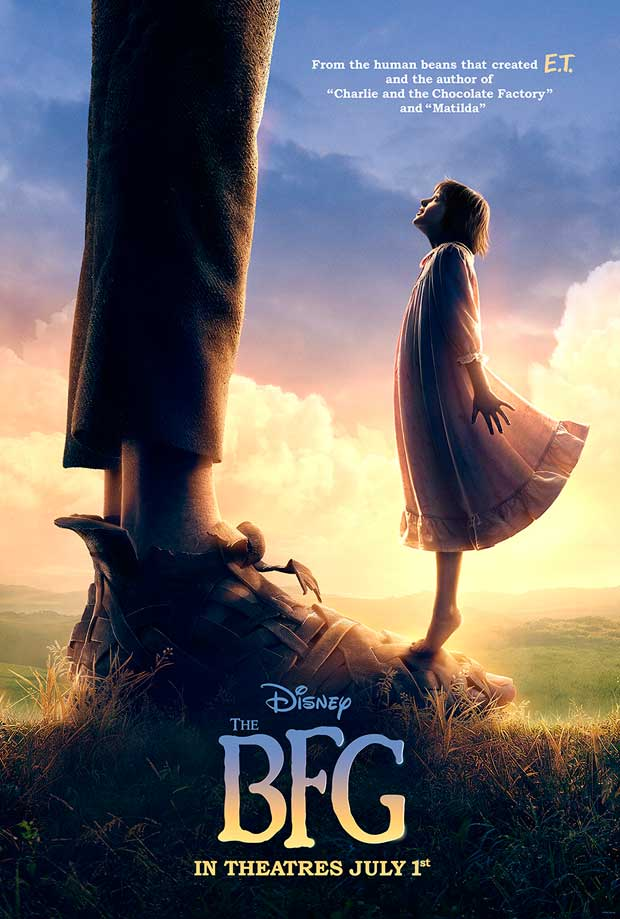 Big Friendly Giant (BFG) Poster Image & Information