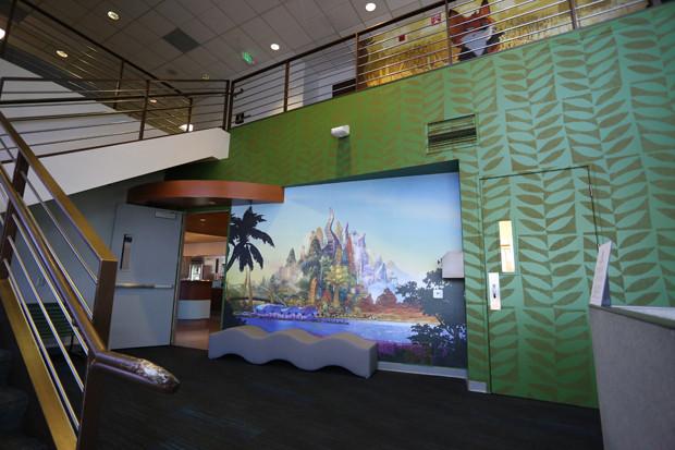ZOOTOPIA - Walt Disney Animation Studios Tujunga Campus: lobby. ©2015 Disney. All Rights Reserved.
