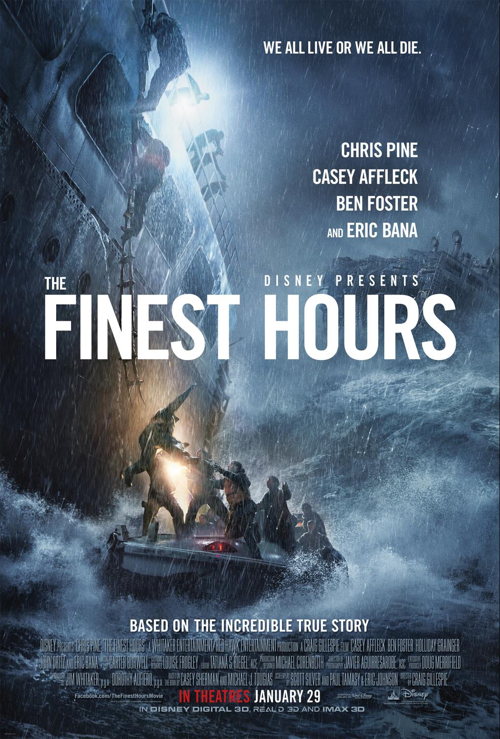 The Finest Hours – Coast Guard 360 Video Experience (Disney Video Release)