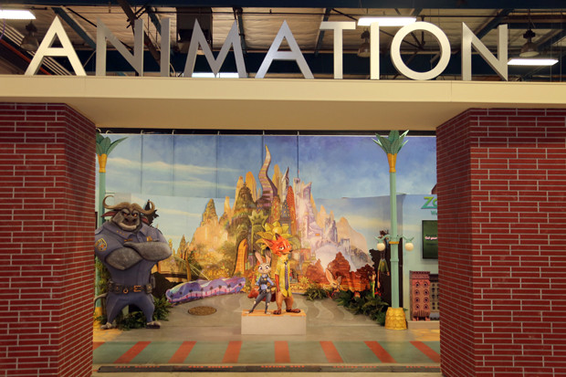 General environment at the Zootopia Long Lead Press Days on October 26, 2015 at the Walt Disney Studios Tujunga Campus. (Photo by Alex Kang. ©2015 Disney. All Rights Reserved.)