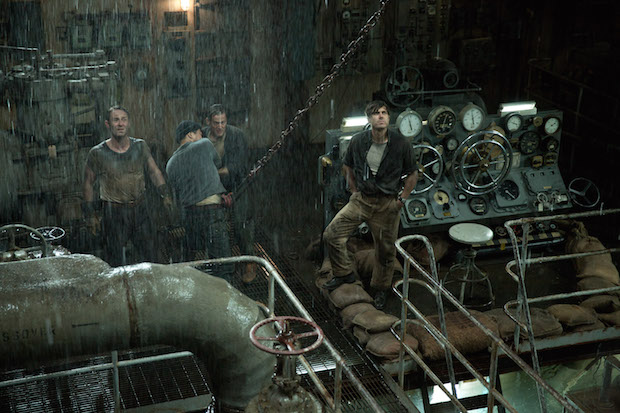 THE FINEST HOURS– Pictured (far right): Ray Sybert. ©2016 Disney. All Rights Reserved.