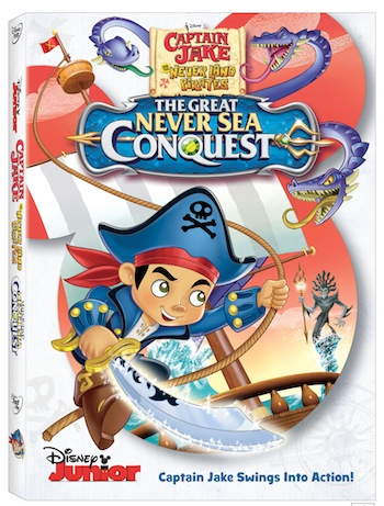 Captain Jake and the Never Land Pirates: The Great Never Sea Conquest on DVD  (Daynah's First Impressions)