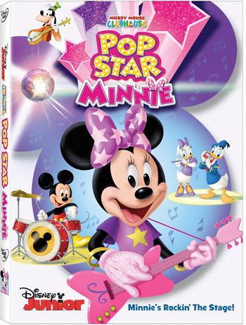 Pop Star Minnie DVD