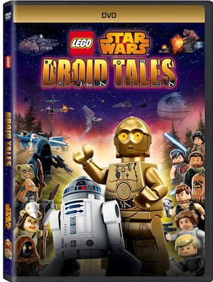 Lego Star Wars: Droid Tales Comes to DVD On March 1st