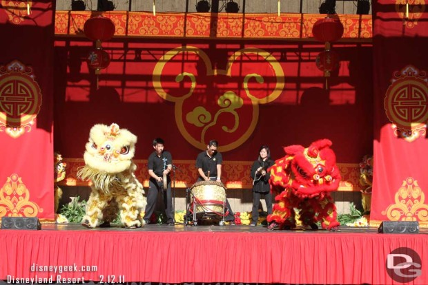 In 2011 the Lunar New Year Celebration was at the Big Thunder Ranch Jamboree