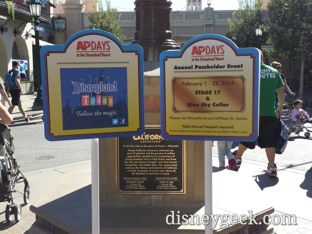 Annual Passholder Days at the #Disneyland Resort