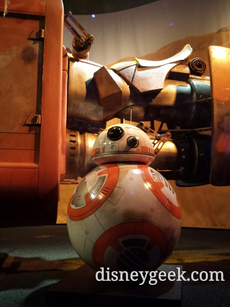 BB-8 in the #StarWars Launch Bay #Disneyland