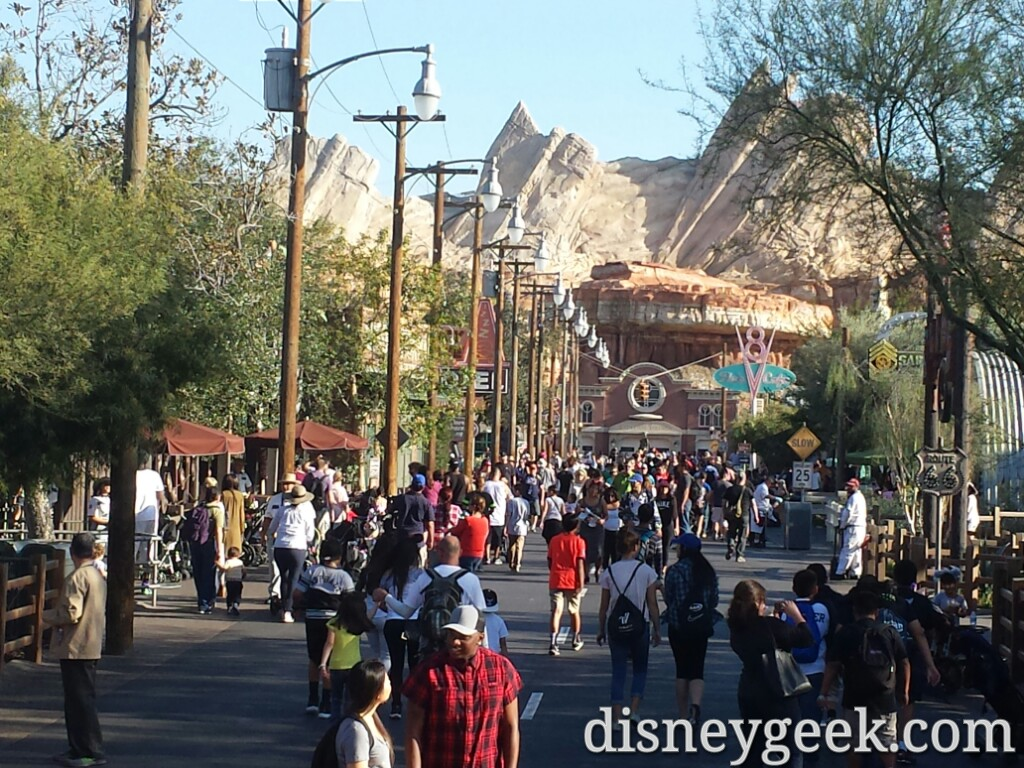 Route 66 this afternoon #CarsLand
