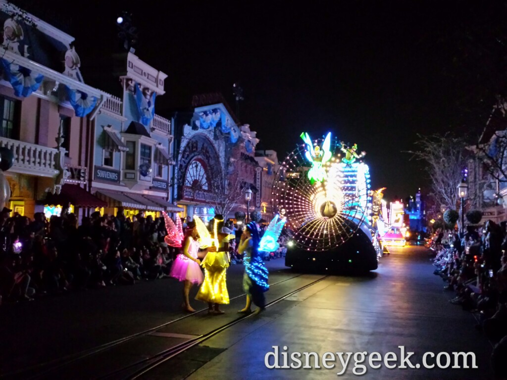 Paint the Night opening #Disneyland