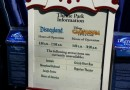 Arriving at #Disneyland the closure list for today