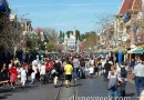 Main Street USA #Disneyland around 1:30pm