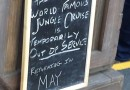 Jungle Cruise sign now says returning in May #Disneyland