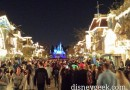 Main Street USA #Disneyland around 7:30pm