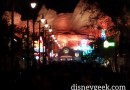 Route 66 #CarsLand at Disney California Adventure this evening